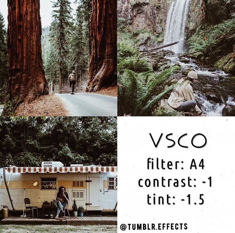 Rumus filter VSCO Alam
