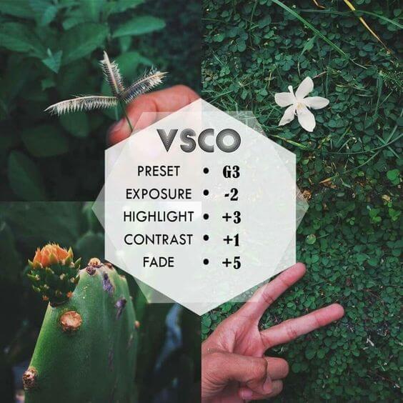 Rumus VSCO Alam 9