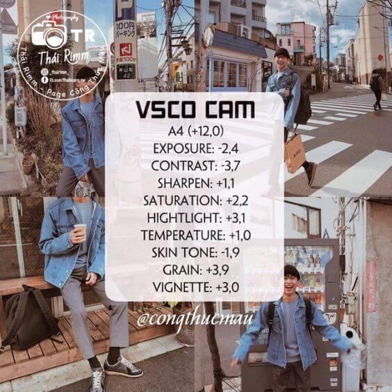 Rumus VSCO Selfie 31