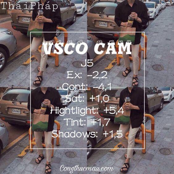 Rumus VSCO Selfie 39