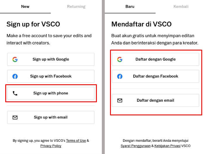 Vsco Definisi Download Install Daftar Akun Vsco