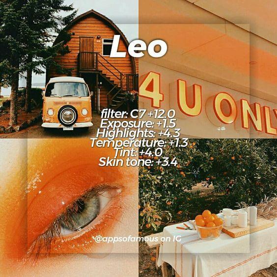 Rumus VSCO Orange