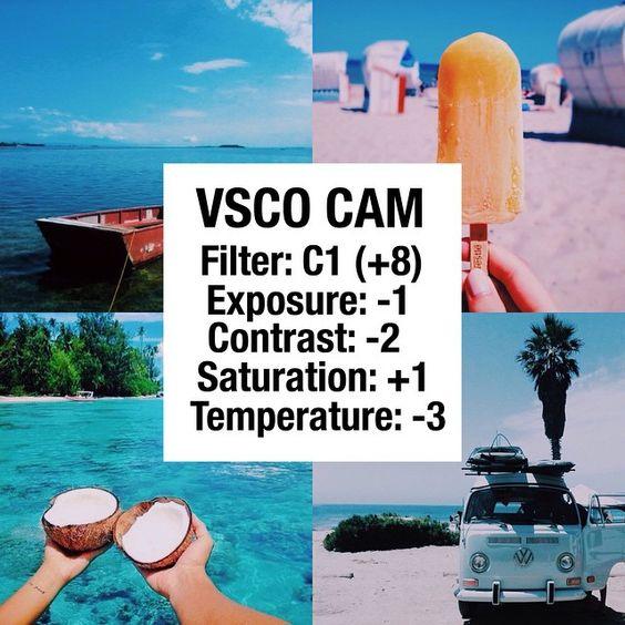 Rumus VSCO Pantai