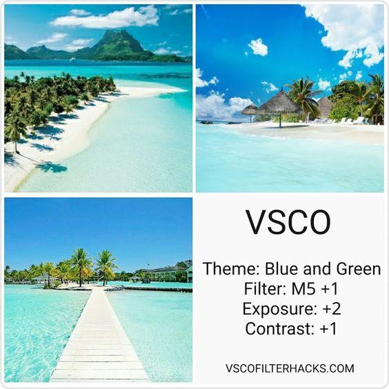 Rumus filter VSCO Pantai