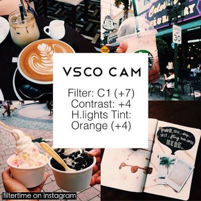 Rumus VSCO Selebgram Cafe 11