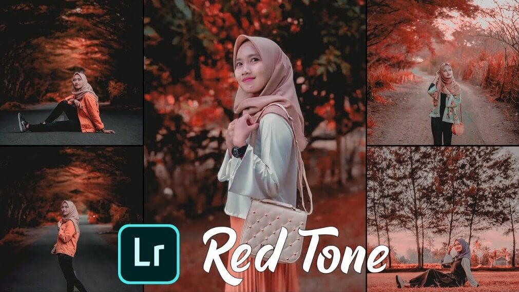 Rumus Lightroom Red Tone