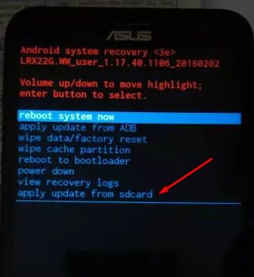 Cara Flash Asus Zenfone C Z007 Tanpa PC via SD Card
