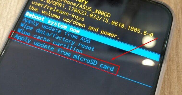 Cara Flash HP Asus semua tipe Tanpa PC via SD Card