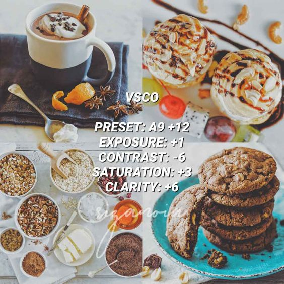 Rumus VSCO Food Makanan Photography