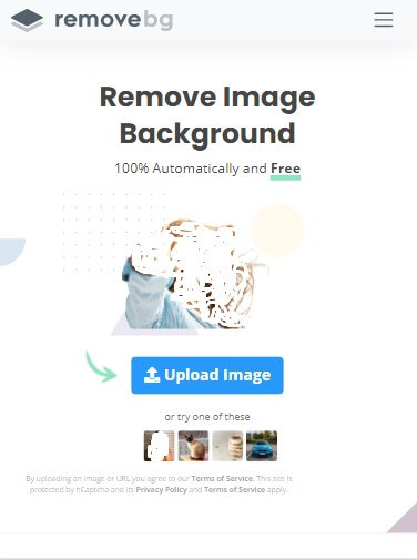 Buka Situs Remove.bg