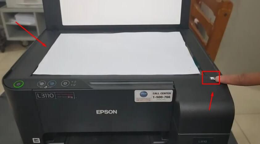 Masukan Dokumen yang akan di scan