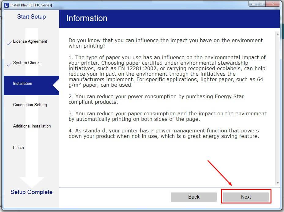 Baca Informasi Printer