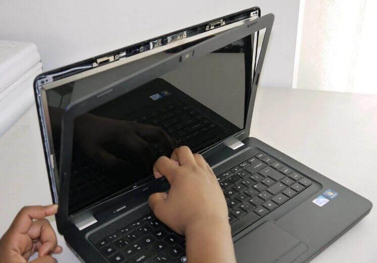 Ganti Layar LCD