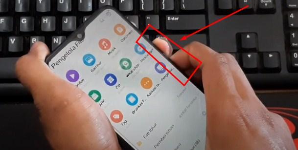 cara mengatasi HP Vivo yang tidak bisa disentuh dengan tombol fisik