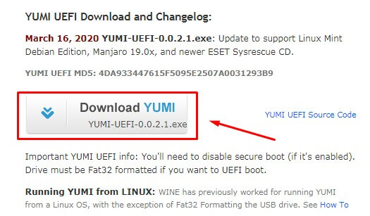 Unduh Software YUMI