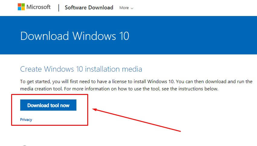 Download File ISO Windows 10