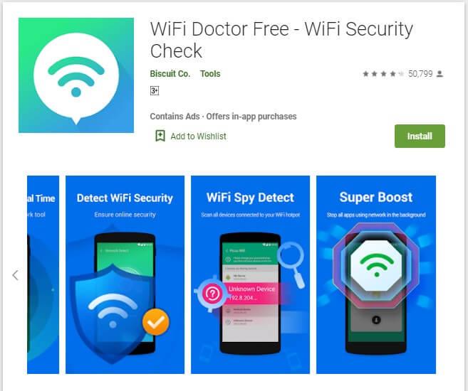 Aplikasi WiFi Doctor Free