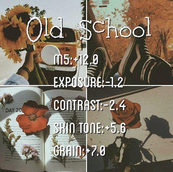 11 Preset VSCO Aesthetic Old school