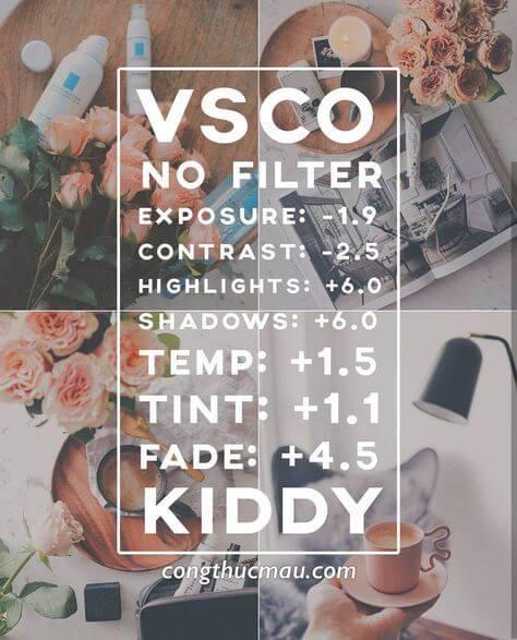 13 Preset VSCO Aesthetic Soft