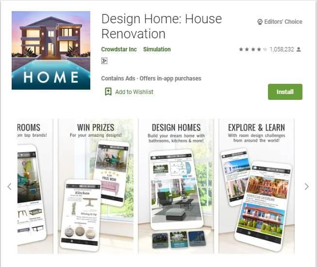 Aplikasi Design Home: House Renovation
