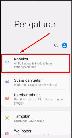 2. Pilih Connections