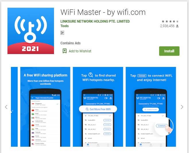 Aplikasi WiFi Master