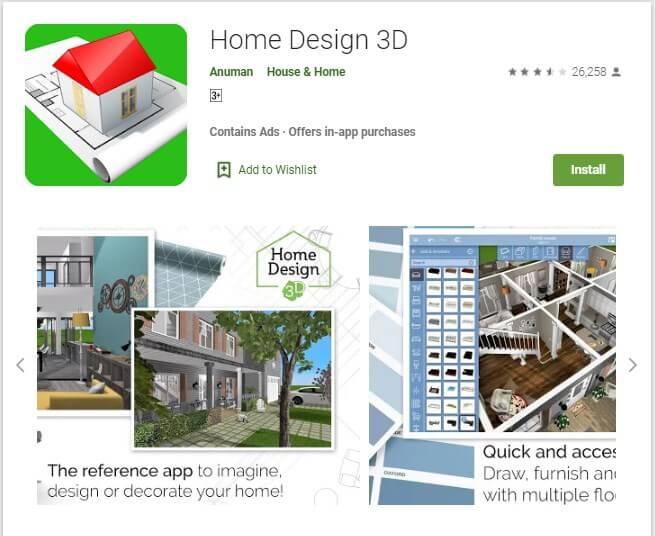Aplikasi Home Design 3D