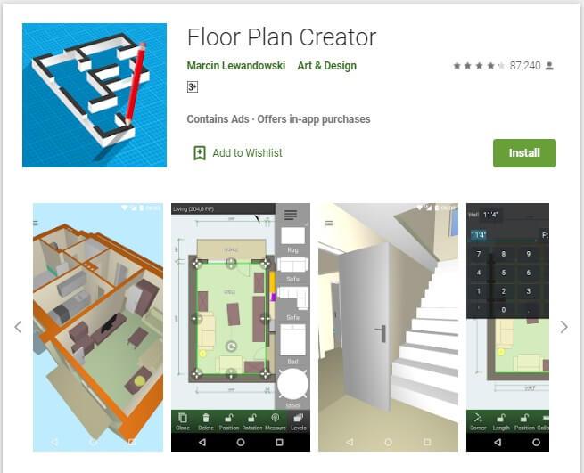 Aplikasi Floor Plan Creator