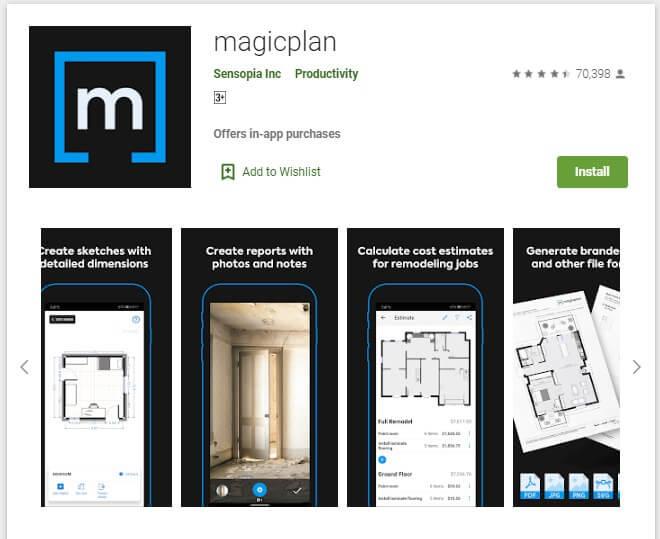 Apliksai Magicplan