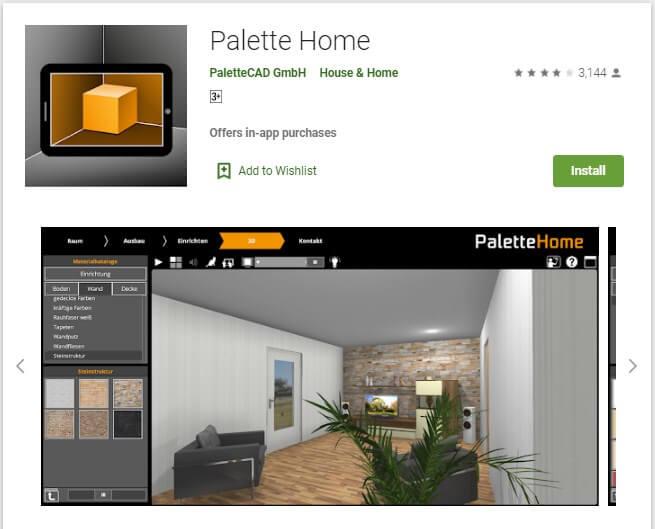 Aplikasi Palette Home
