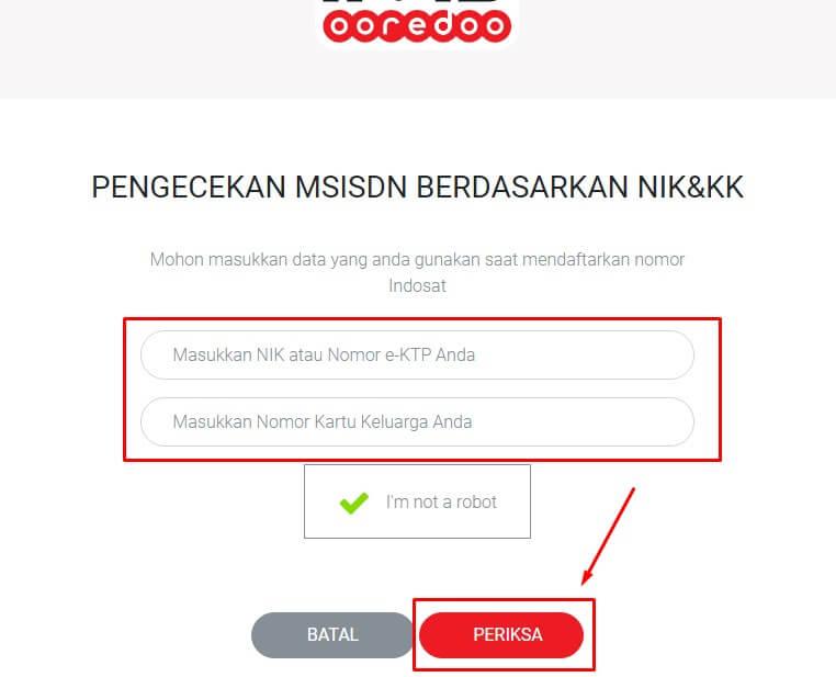 Cara Mengecek Nomor Indosat yang Sudah Diregistrasi Melalui Online