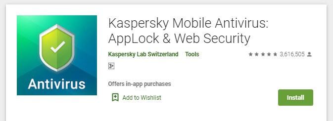 Cara Menghapus Virus di HP Android Dengan Aplikasi Kaspersky Antivirus