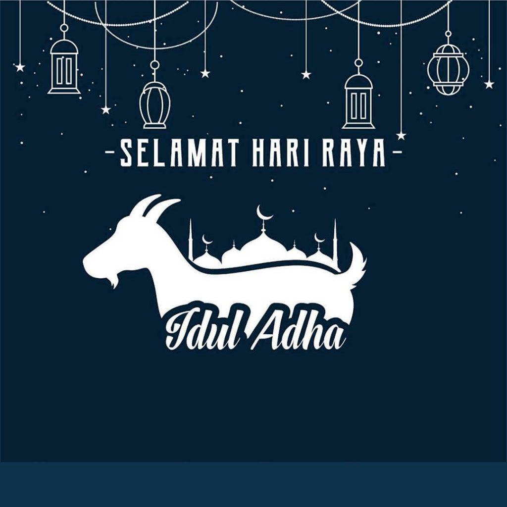 Contoh Kartu Ucapan Selamat Idul Adha 2021 2