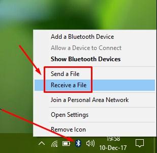Kirim & Terima File via Bluetooth