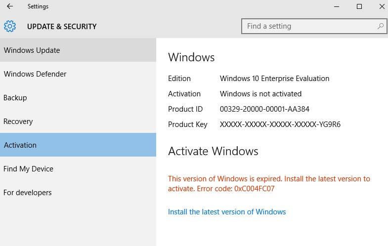 Matikan Activator Windows