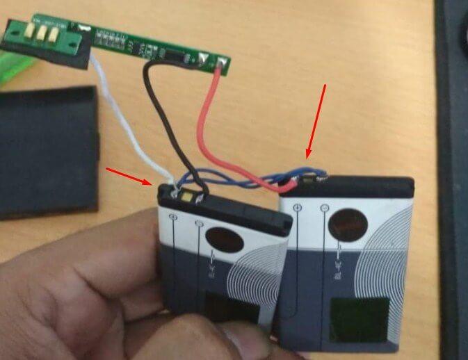 Cara Memperbaiki Printer Bluetooth yang baterainya rusak dengan merakit baterai sendiri
