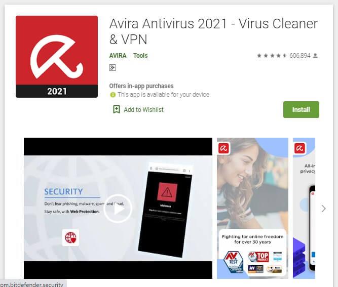 antivirus HP untuk membersihkan virus di HP Samsung J7 biar gak lemot