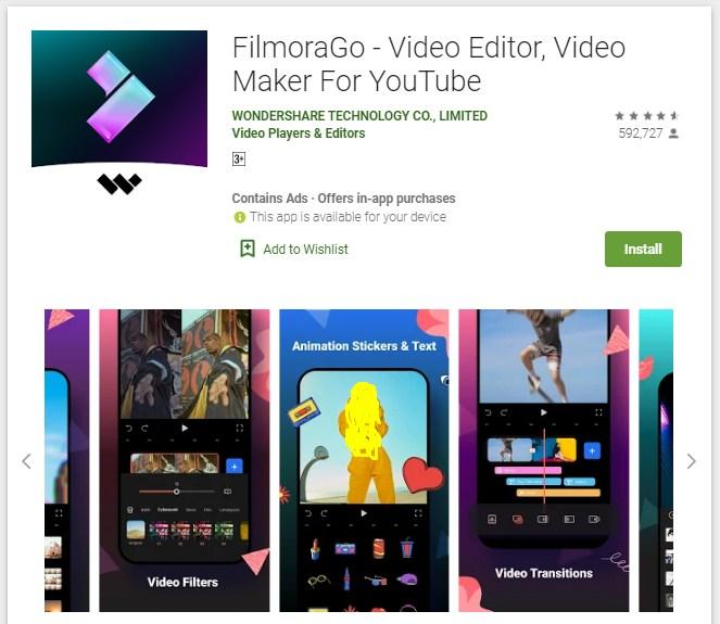 Aplikasi Edit Video Android Tanpa Watermark