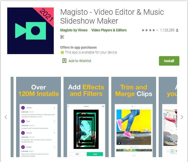 Aplikasi Edit Video Android Tanpa Watermark Magisto