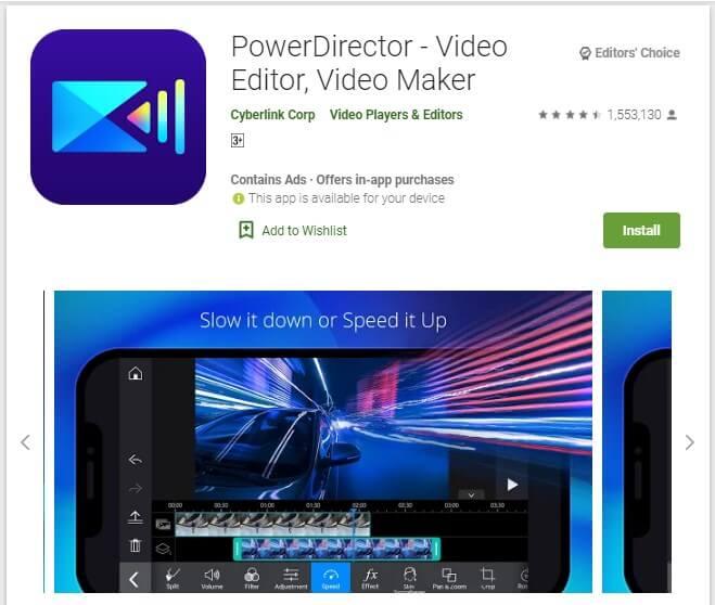 Aplikasi Edit Video Android Tanpa Watermark PowerDirector