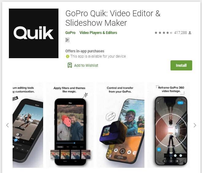 Aplikasi Edit Video Android Tanpa Watermark Quik