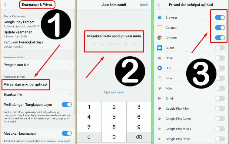 Bagaimana Cara Mengunci Aplikasi di HP Vivo dengan Kata sandi Password