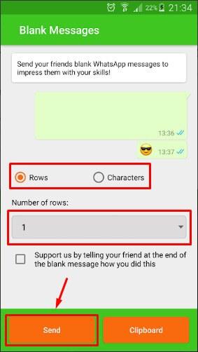 Cara Membuat Tulisan Kosong di WhatsApp Dengan Aplikasi Blank Message