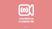 Cara Merekam di Zoom Cloud Meeting di Laptop, PC & HP
