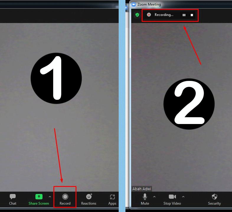 Cara Merekam di Zoom Cloud Meeting di Laptop & PC